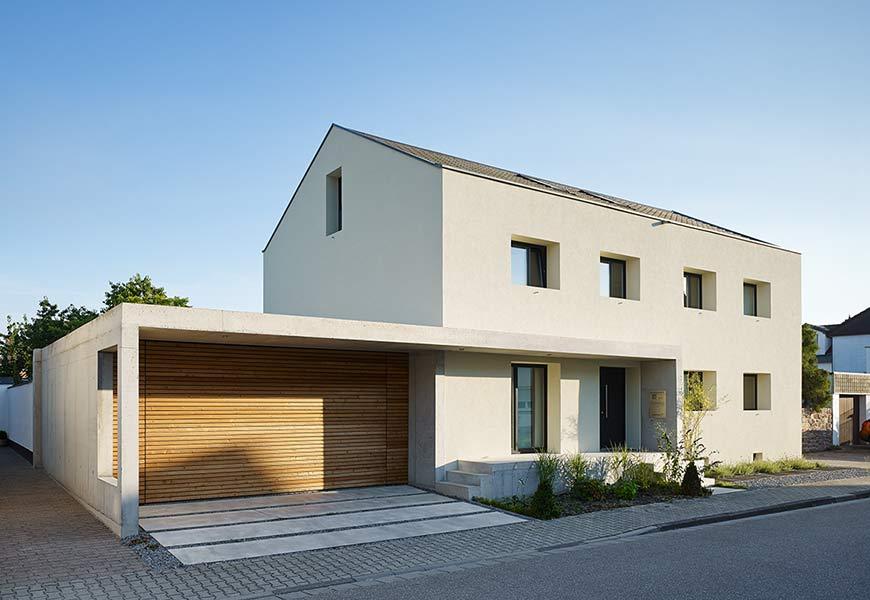 umbau sanierung und r ckf hrung zweier doppelhaush lften in ein einfamilienhaus. Black Bedroom Furniture Sets. Home Design Ideas